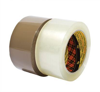 Obrázek Balicí pásky NEHLUČNÉ - 48 mm x 66 m / hnědá