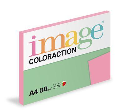 Obrázek Xerografický papír BAREVNÝ - Coral / starorůžová / 100 listů / PI25