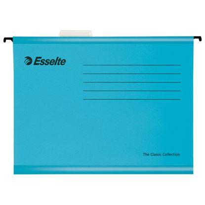 Obrázek Závěsné desky Esselte Classic Collection - modrá