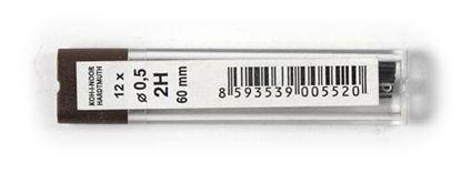 Obrázek Tuhy do mikrotužek KOH-i-NOOR - 0,5 mm / 2H