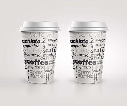 Obrázek Kelímky papírové Coffee - 300 ml / 50 ks
