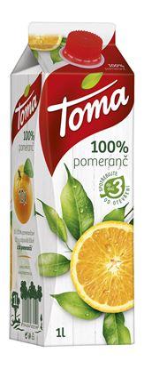 Obrázek Toma džus pomeranč 100% 1l