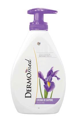 Obrázek Mýdla tekutá Dermomed -  pudr a kosatec / 300 ml