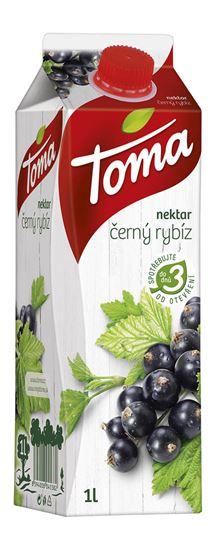 Obrázek z Toma džusy 1 l - černý rybíz nektar