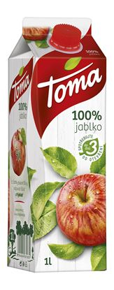 Obrázek Džus 1 l - jablko / 100 %