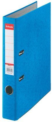 Obrázek Pořadač A4 pákový kartonový Rainbow - hřbet 5 cm / modrá / 17920