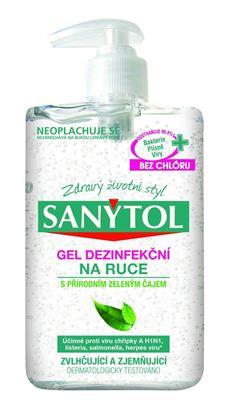 Obrázek Dezinfekční gel Sanytol na ruce - 250 ml