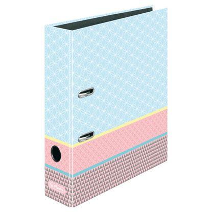 Obrázek Pořadač A4 pákový Graphic Pastels -  hřbet 8 cm / Blue