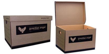 Obrázek Kontejner archivační Guardian Angel - přírodní hnědá