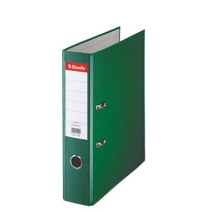 Obrázek Pořadač A4 pákový polypropylen Economy - hřbet 7,5 cm / zelená / 11256