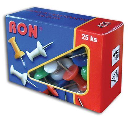 Obrázek Špendlíky na nástěnku RON - 25 ks
