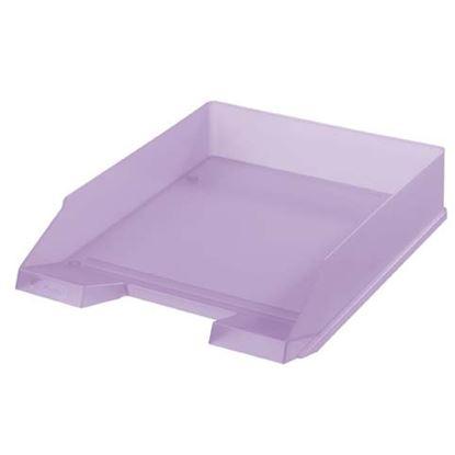 Obrázek Kancelářský box na spisy Herlitz - lila / fialová