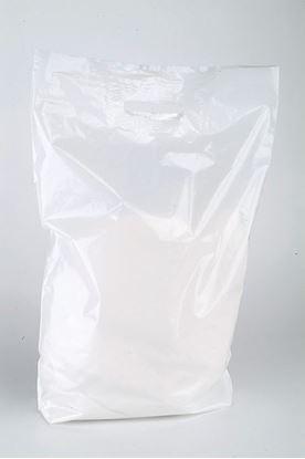 Obrázek Tašky odnosné s uchem - 38 x 45 cm / bílé s průhmatem