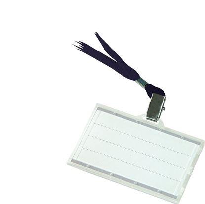 Obrázek Pouzdro na karty - pouzdro + černá šňůrka