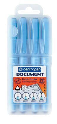 Obrázek Liner Centropen 2631 Document - sada 4 ks