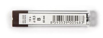 Obrázek Tuhy do mikrotužek KOH-i-NOOR - 0,5 mm / B