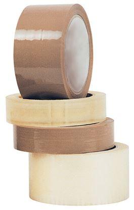 Obrázek Balicí pásky  -  25 mm x 66 m / hnědá