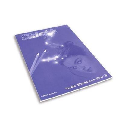 Obrázek Skicáky Slunap - skicák A4 / 10 listů, jednobarevná obálka