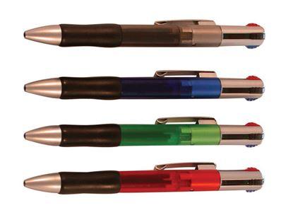 Obrázek Kuličkové pero AEV1920 čtyřbarevné - barevný mix