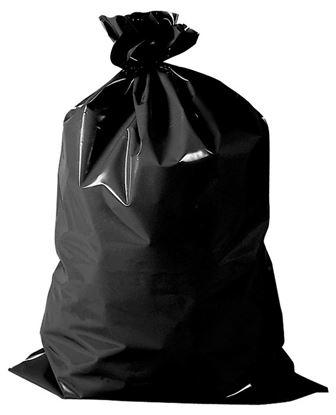 Obrázek Pytle na odpad Extra silné PE 60x120 cm 180 my 120 l černé