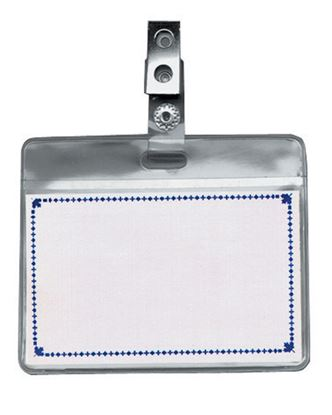 Obrázek Jmenovka s klipem - 6 x 9 cm / na šířku / s klipem