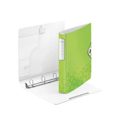 Obrázek Mobilní pořadač A4 kroužkový WOW - 4 - kroužek / zelená / 42400064