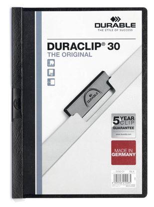 Obrázek Desky A4 Duraclip - kapacita 30 listů / černá