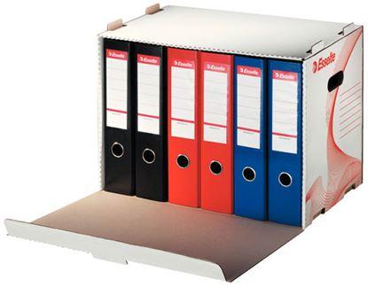Obrázek Esselte archivní kontejner na pákové pořadače bílý