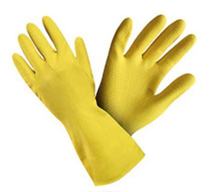 Obrázek Ochranné rukavice gumové - velikost S