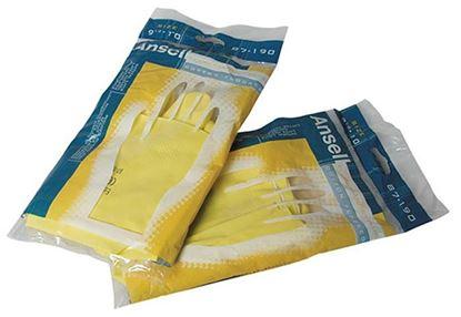 Obrázek Ochranné rukavice gumové - velikost M
