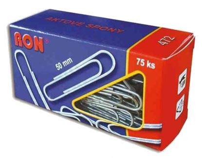Obrázek Aktové spony RON - 50 mm / 75 ks