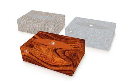 Obrázek Kapesníčky papírové kosmetické Harmony - dvouvrstvé / 150 ks