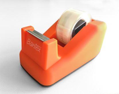 Obrázek Stolní odvíječ lepicí pásky Bantex - oranžová