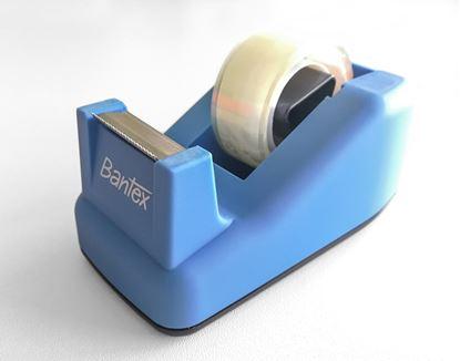 Obrázek Stolní odvíječ lepicí pásky Bantex - modrá