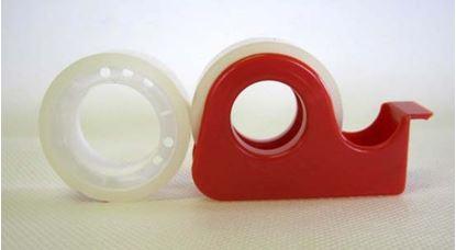 Obrázek Lepicí páska s odvíječem - 15 mm x 10 m / 2 ks