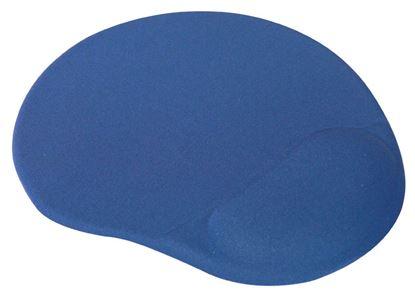 Obrázek Podložka pod myš gelová LOGO - modrá