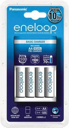 Obrázek Nabíječka baterií Eneloop Panasonic - bílá