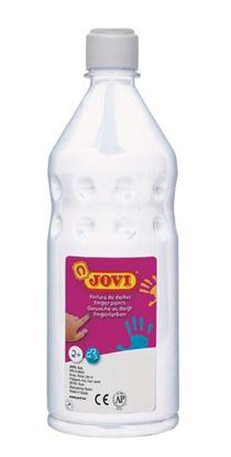 Obrázek Prstové barvy JOVI v láhvi - 750 ml / bílá