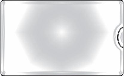 Obrázek Samolepicí kapsy na vizitky - boční vkládání / 10 ks
