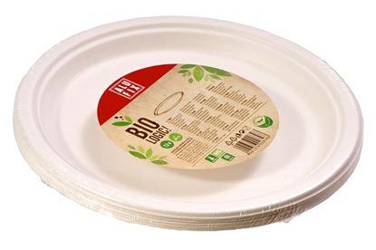 Obrázek Alufix BIO nádobí - talíř kulatý / prům.26 cm / 12 ks