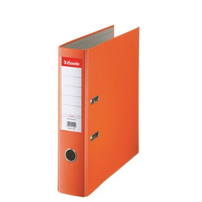 Obrázek Pořadač A4 pákový polypropylen Economy - hřbet 7,5 cm / oranžová / 11234
