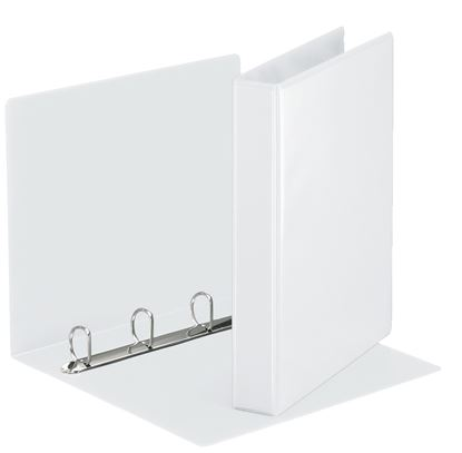 Obrázek Esselte pořadač A4 kroužkový prezentační 5,1 cm 4-kroužek bílá