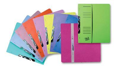 Obrázek Rychlovazač A4 papírový RZP Classic - růžová