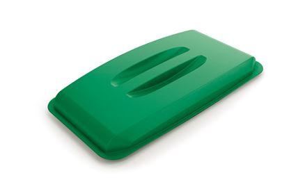 Obrázek Odpadkové koše Durabin 60 l - víko / zelená