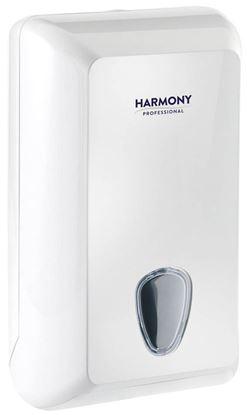 Obrázek Zásobník na skladaný toaletní papír Harmony Professional  - bílá / 300 x 132 x 170 mm