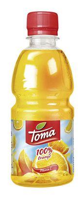 Obrázek Toma 0,33 l - pomeranč / 100 %