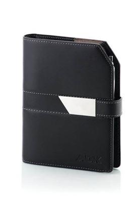 Obrázek Diář ADK A6 New Elegant - černá / černá