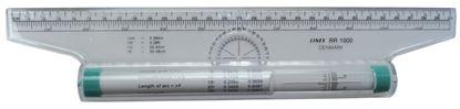 Obrázek Pravítko valivé  -  pravítko 30 cm