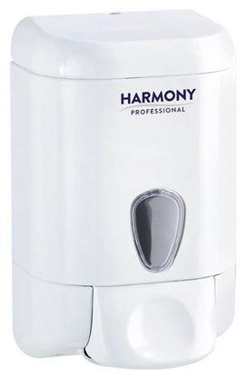 Obrázek Zásobník na tekuté mýdlo Harmony Professional - bílá / 1 l