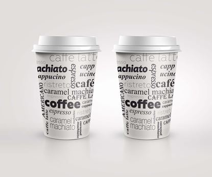 Obrázek Kelímky papírové Coffee - 200 ml / 50 ks